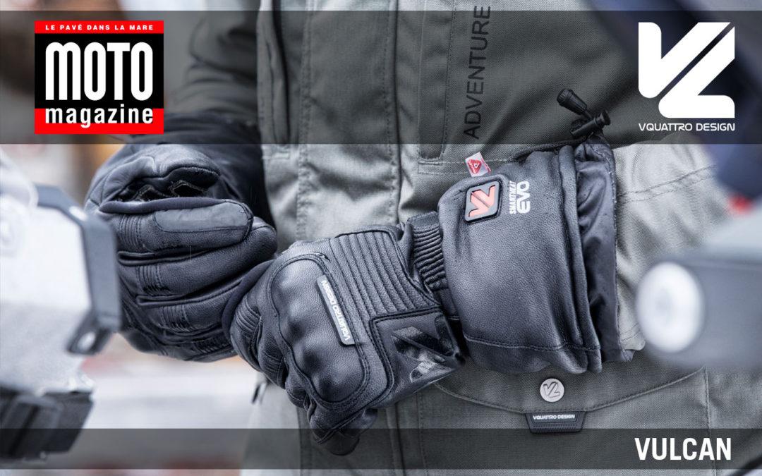 Essai Motomag : gants chauffants Vulcan VQuattro design