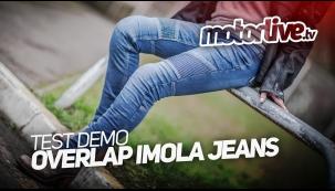 Essai Motoservices : jean moto Imola Overlap