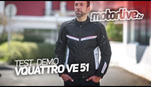 Essai Motoservices : blouson moto VE-51 Vquattro Design