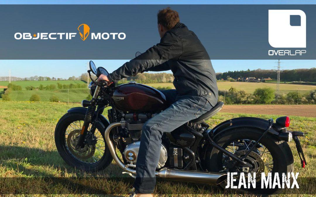Essai Objectif-Moto : jean moto Manx Overlap