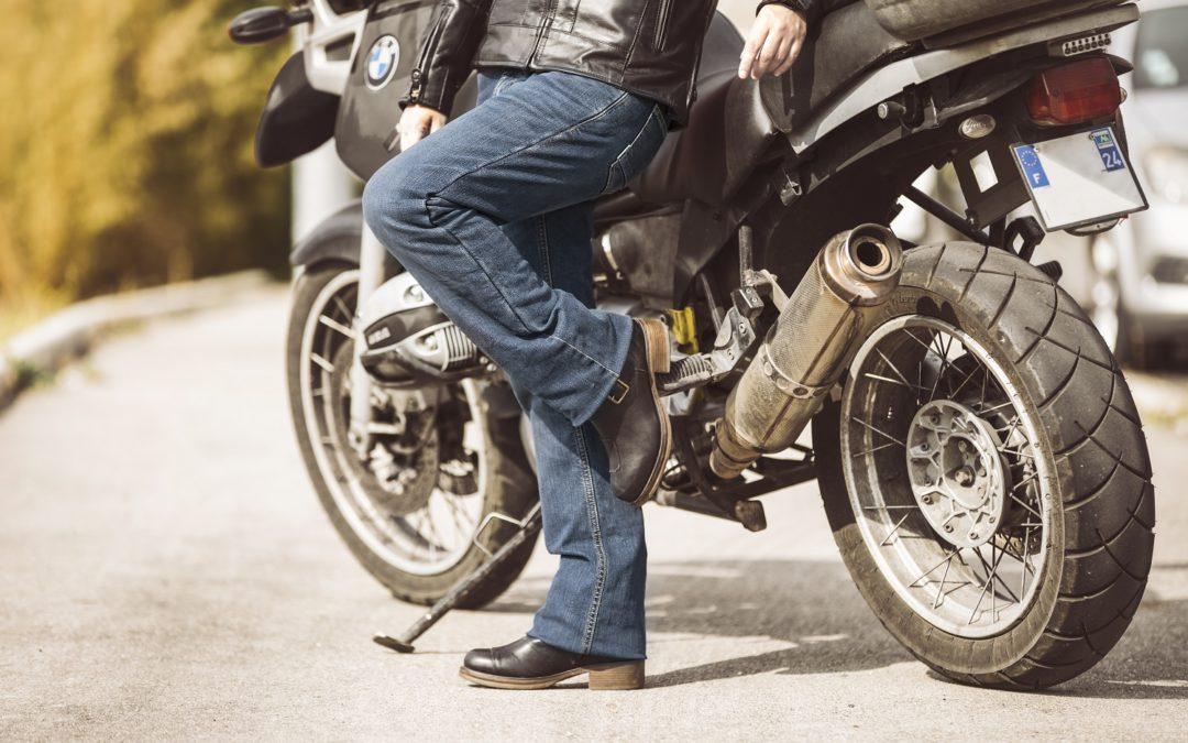 CP : jean moto Donington Overlap