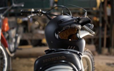CP : casque intégral Super Retro Astone helmets