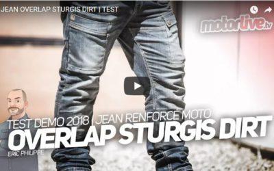 Essai Motoservices : jean moto Sturgis Overlap