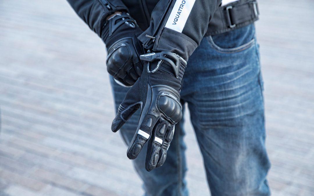 CP : gants moto Roadstar VQuattro design