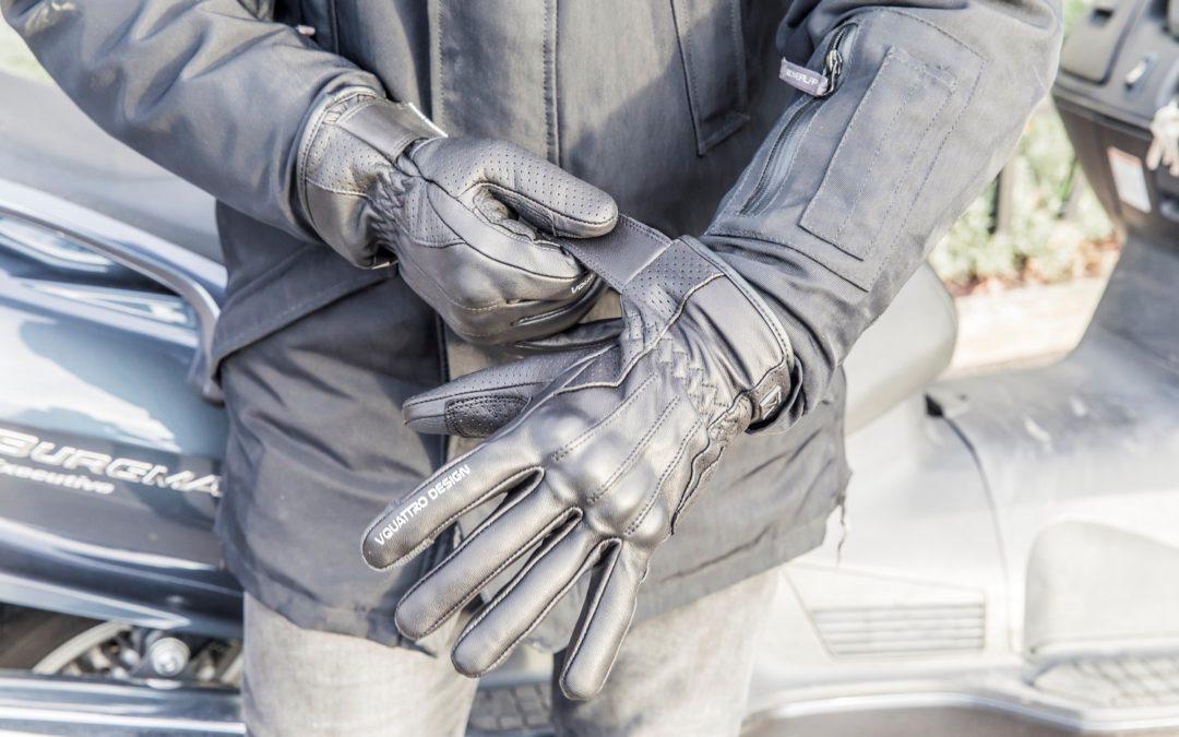CP : gants moto Vintaco VQuattro design