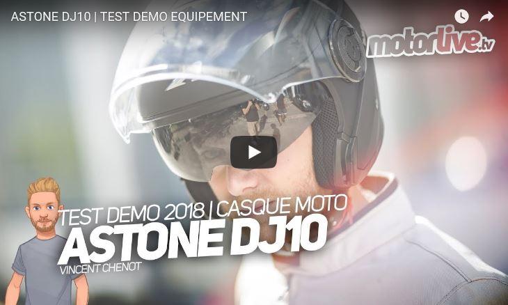 Essai Motoservices : casque moto DJ10 Astone