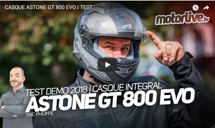 Essai Motoservices : casque moto GT800 evo Astone helmets