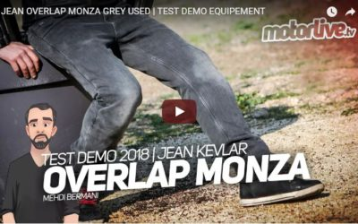 Essai Motoservices : jean moto Monza Overlap