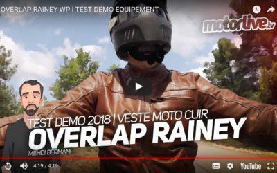 Essai Motoservices : blouson moto Rainey Overlap