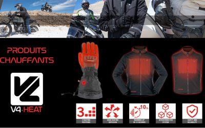 CP : veste chauffante Escape VQuattro design