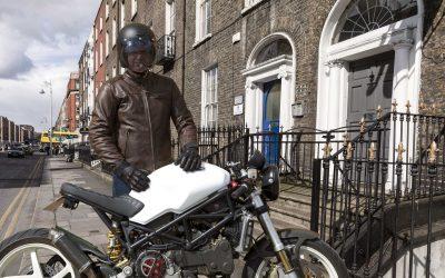 CP : gants moto Northon Overlap