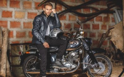CP : pantalon moto Danny Overlap
