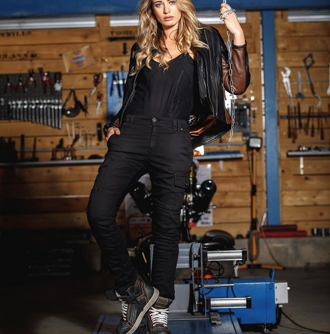 CP : pantalon moto Carpenter Lady Overlap