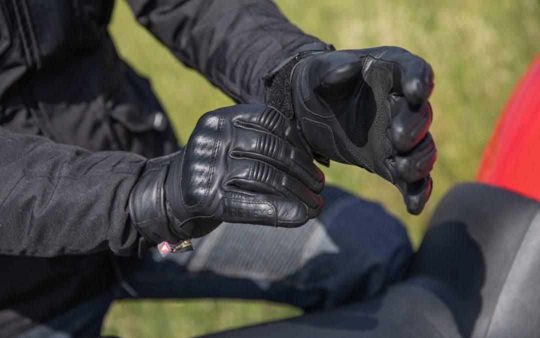 CP : gants moto Iconic GTX VQuattro design