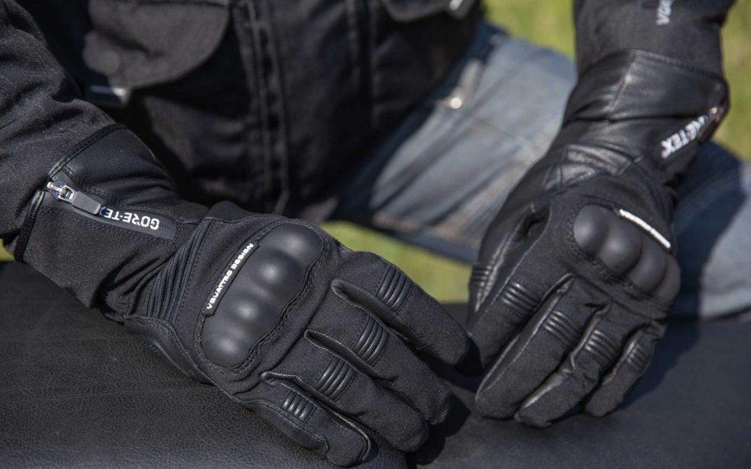 CP : gants moto Stormer 18 GTX VQuattro design