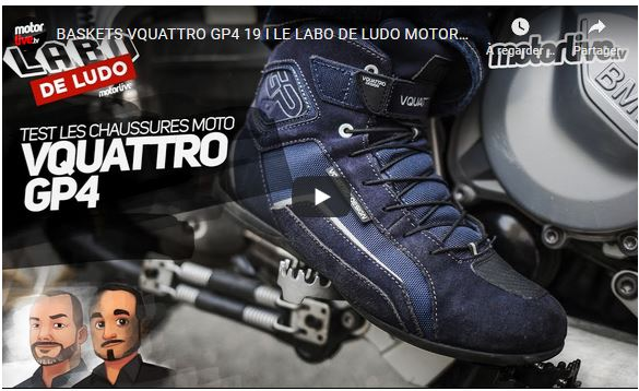 Essai Motoservices : basket GP4 19 VQuattro Design