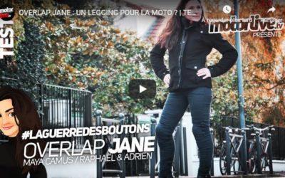 Essai Motoservices : legging Jane Overlap