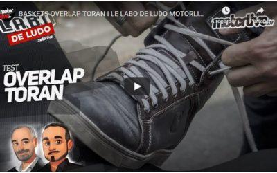 Essai Motoservices : basket Toran Overlap