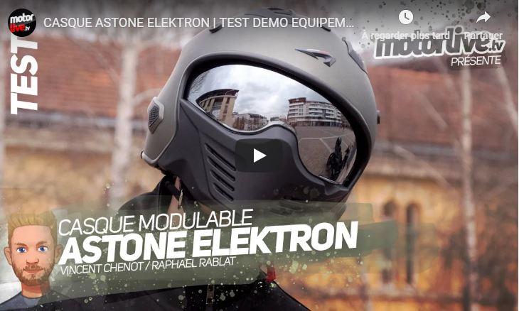 Essai Motoservices : casque 4en1 Elektron Astone