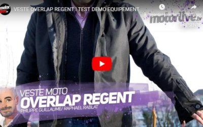 Essai Motoservices : veste urbaine Regent Overlap