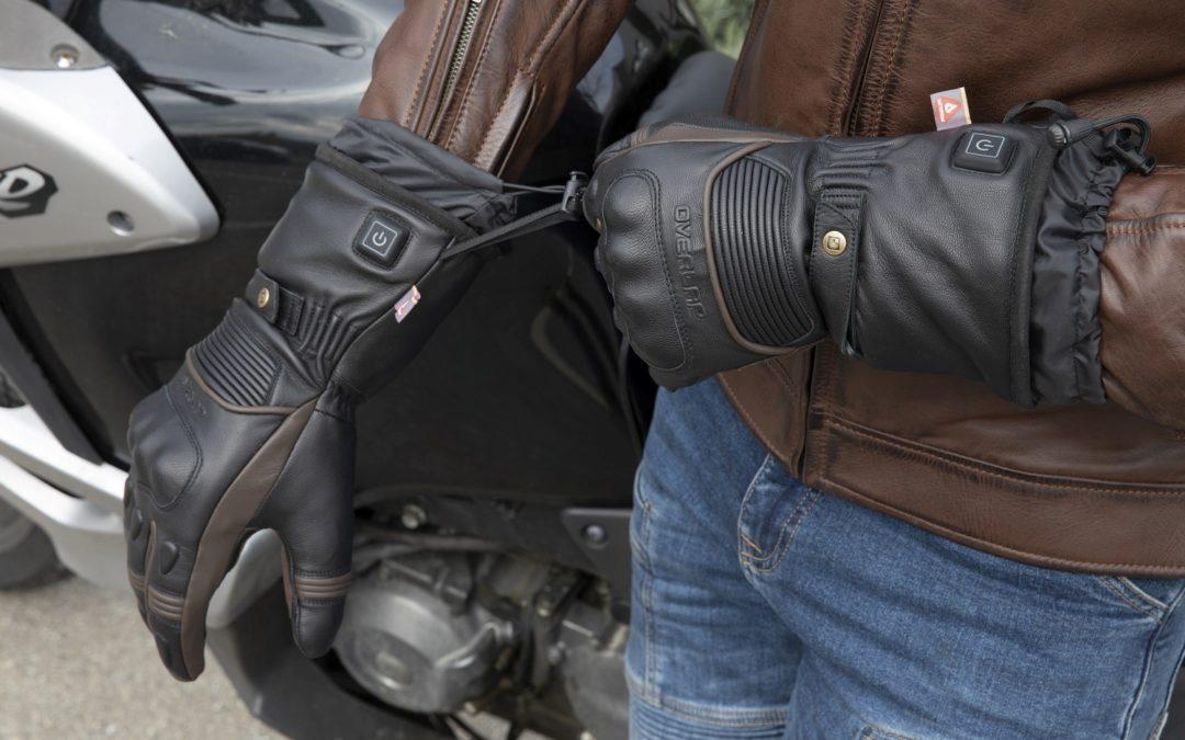 CP : gants chauffants moto Warmer Overlap