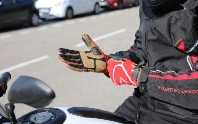 Los guantes Vquattro Thunder son perfectos para el entretiempo